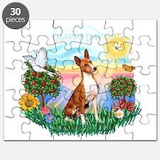 Happy Day Basenji Puzzle