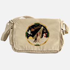 Night Flight/Beagle Messenger Bag