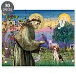 Saint Francis / Beagle Puzzle