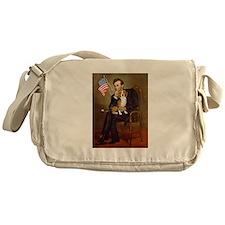 Lincoln's Beagle Messenger Bag