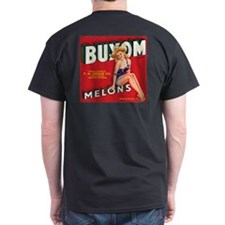 Buxom Melons 2 Distressed T-Shirt