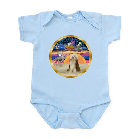 XmasStar/ Beardie #10 Infant Bodysuit