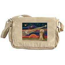 Xmas Star & Bearded C Messenger Bag