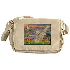 Cloud Angel Bedlington Messenger Bag