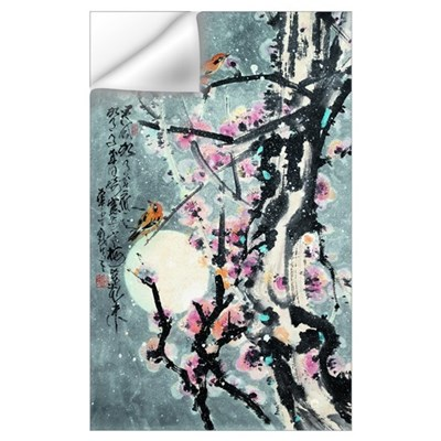 Plum Blossoms in Snow Wall Decal
