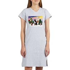 Treat for Bernese Mt Dog Women's Nightshirt