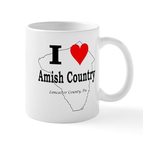 I Love Amish Mug