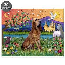 Bloodhound Fantasy Puzzle