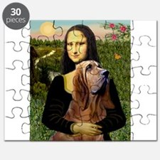 Mona & her Bloodhound Puzzle