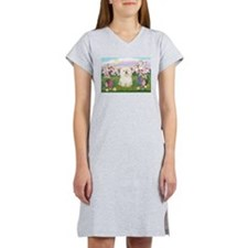 Bolognese/Blossoms Women's Nightshirt