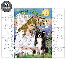 Angel & Border Collie Puzzle