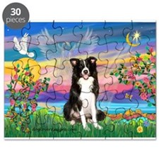 GUARDIAN ANGEL/BORDER COLLIE Puzzle