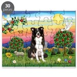 Bright Country/Border Collie Puzzle