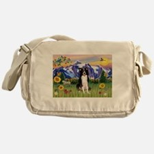 Mt Country & Border Collie Messenger Bag