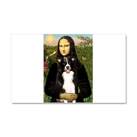 Mona/Border Collie Car Magnet 20 x 12