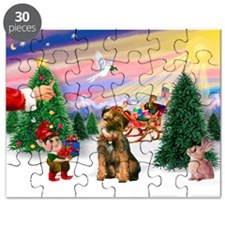 Santa's Treat /Border T Puzzle
