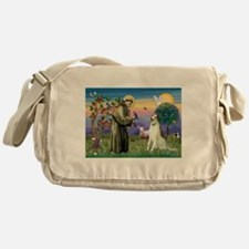 St Francis & Borzoi Messenger Bag