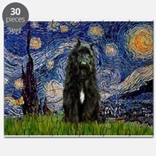 Starry Night Bouvier Puzzle