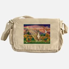 Autumn Angel / Boxer Messenger Bag