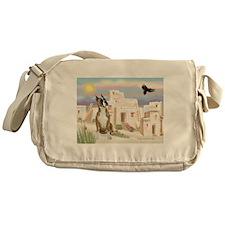 Adobe Village/Boxer Messenger Bag