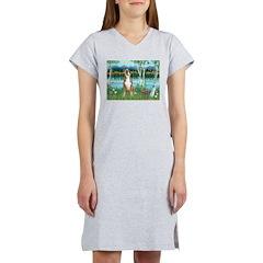 Birches / Boxer Women's Nightshirt