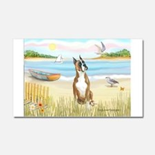 Rowboat / Boxer Car Magnet 20 x 12
