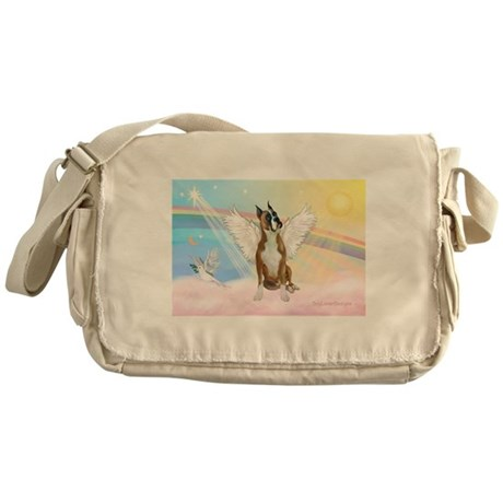 Angel / Boxer Messenger Bag