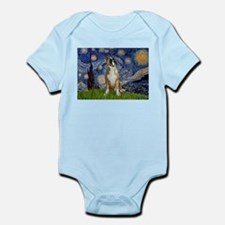 Starry Night & Boxer Infant Bodysuit
