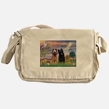 Cute Briard Messenger Bag