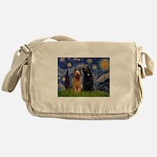 Funny Briard Messenger Bag
