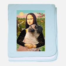 Mona's Bull Mastiff baby blanket