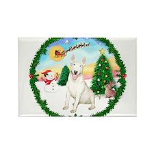 Take Off1/Bull Terrier Rectangle Magnet