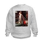 Accolade/Bull Terrier 1 Kids Sweatshirt