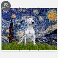 Starry Night/Bull Terrier Puzzle