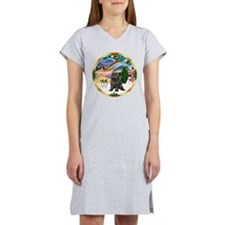 XmasMagic/Cairn Ter #21 Women's Nightshirt