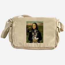Mona /Catahoula Messenger Bag