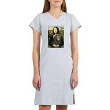 Mona & her Cavalier (BT) Women's Nightshirt