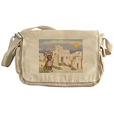 Adobe Village Chihuahua (1) Messenger Bag