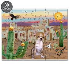 Cactus & Chihuahua Puzzle