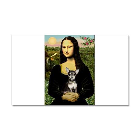 Mona's Chihuahua (BT) Car Magnet 20 x 12