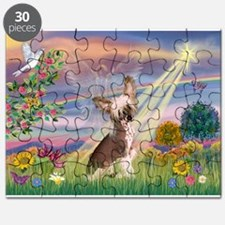 Cloud Angel/Chinese Crested Puzzle