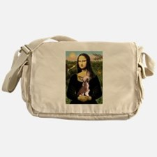 Cute Chinese crested Messenger Bag