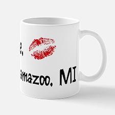 Kiss Me: Kalamazoo Mug