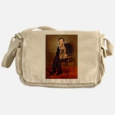 Lincoln's Cocker (#7) Messenger Bag