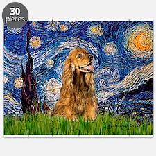 Starry Night/Cocker(#7) Puzzle