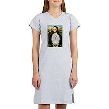 Mona/Coton de Tulear (#7) Women's Nightshirt