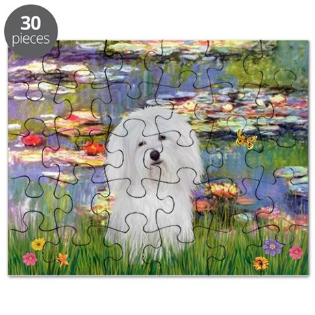Coton in the Lilies Puzzle