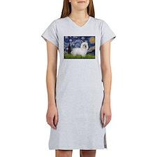 Starry Night/Coton Women's Nightshirt