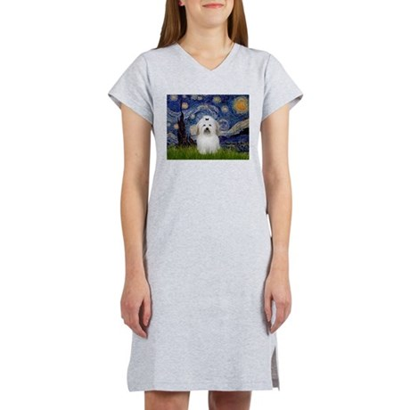 Starry Night Coton Women's Nightshirt