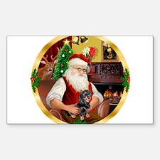 Santa's Dachshund #4 Decal